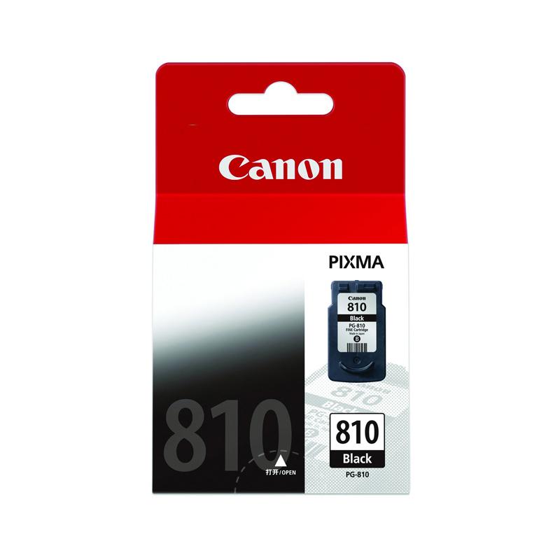 PG-810标准容量黑色墨盒(适用MP496/MP486/MP276/MX338/MX328/MP258等)