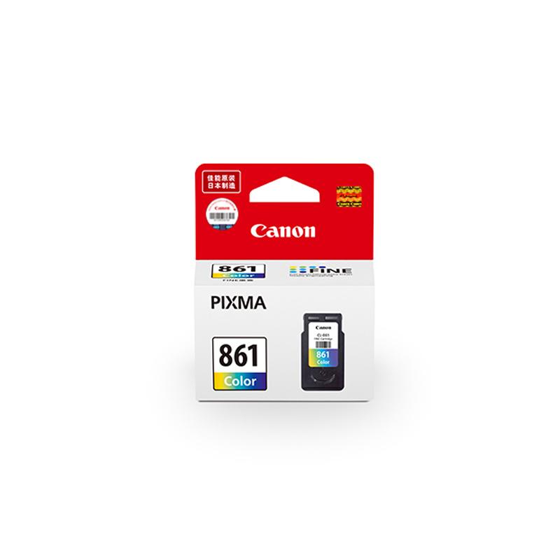 佳能(Canon)原装墨盒CL-861 标准容量 (适合TS5380)