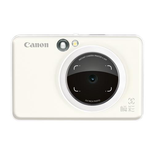 佳能(Canon)手机拍照打印机瞬彩ZV-123 珍珠白