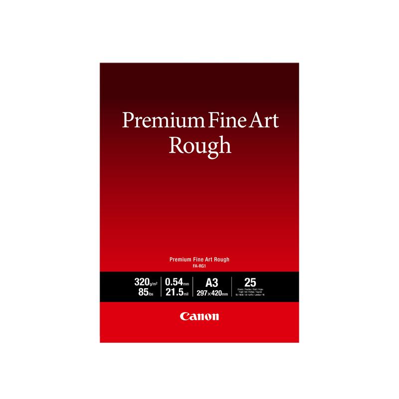 佳能(Canon)专业粗面艺术纸 FA-RG1 A3(25张/包)
