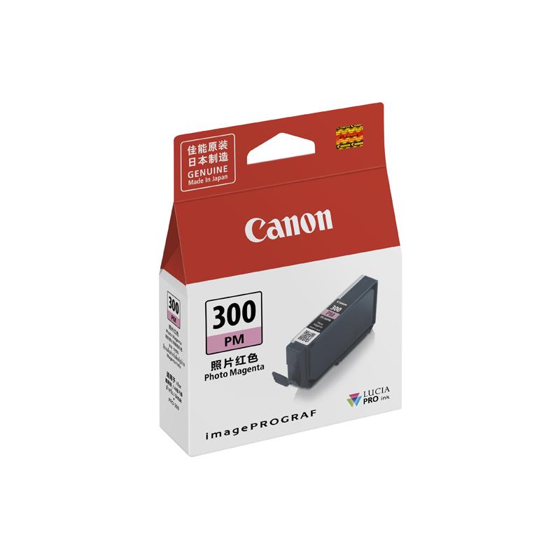 佳能(Canon)PFI-300 PM 照片红色墨盒 (适用于PRO-300)