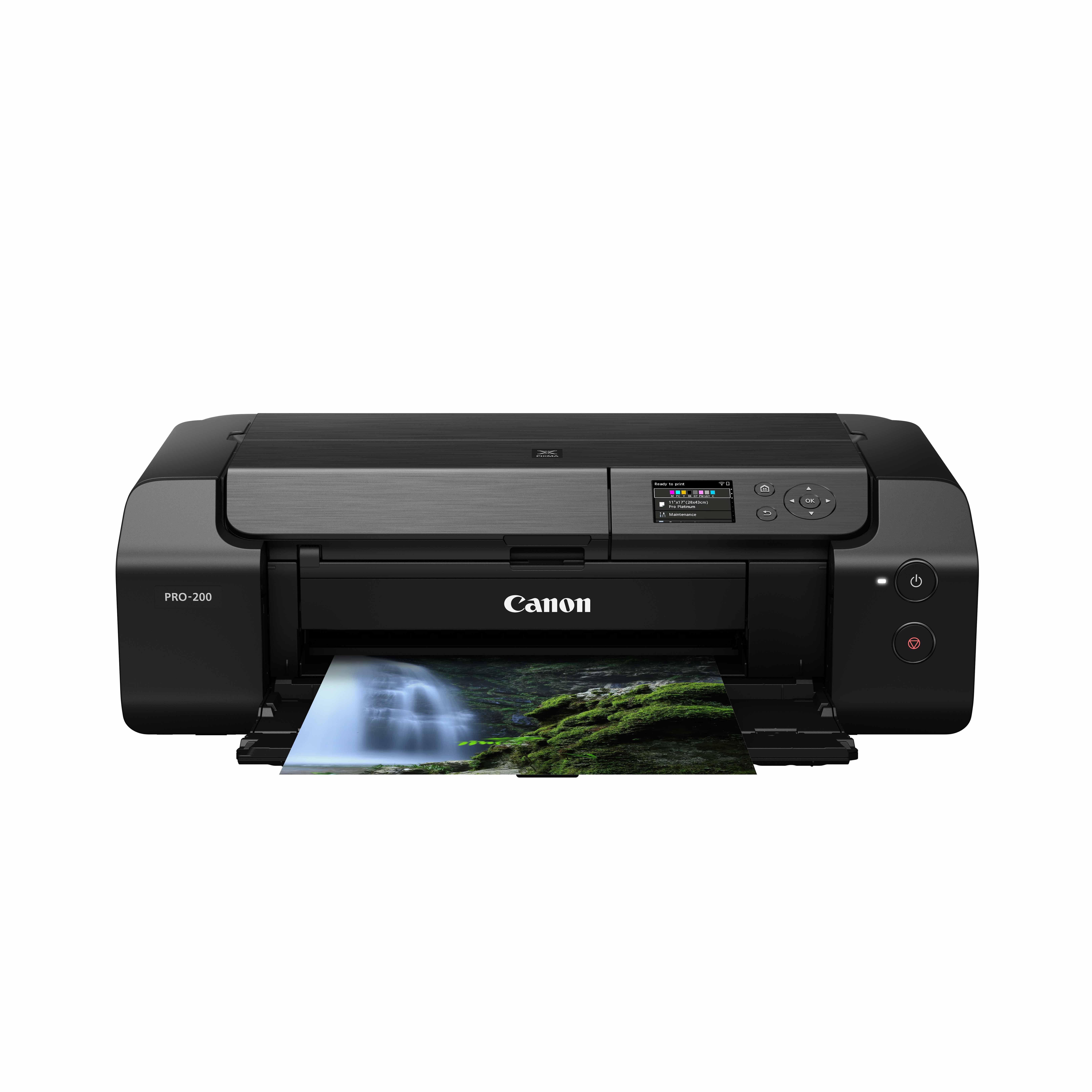 佳能(Canon)腾彩PIXMA A3+幅面专业照片喷墨打印机PRO-200(无线打印)
