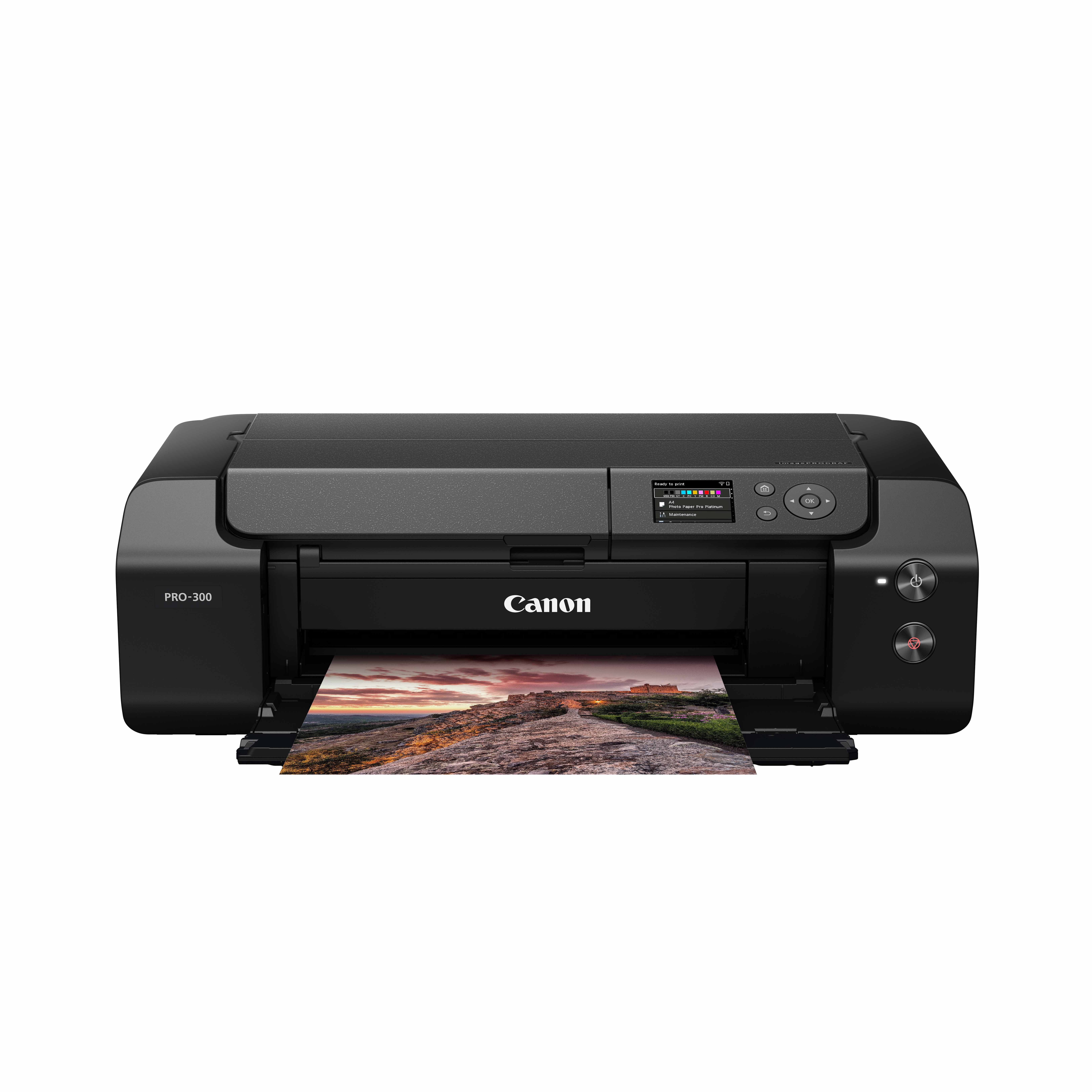 佳能(Canon)imagePROGRAF A3+幅面专业照片喷墨打印机PRO-300(无线打印)