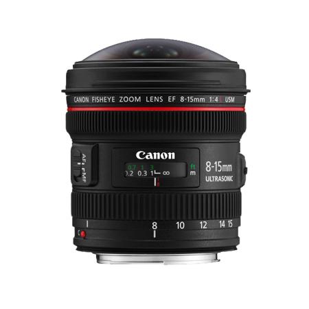 官方翻新品-EF 8-15mm f/4L USM 鱼眼