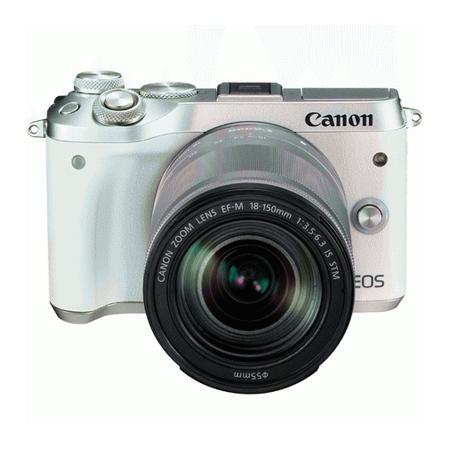 官方翻新品-EOS M6 白色套机 EF-M 18-150mm f/3.5-6.3 IS STM