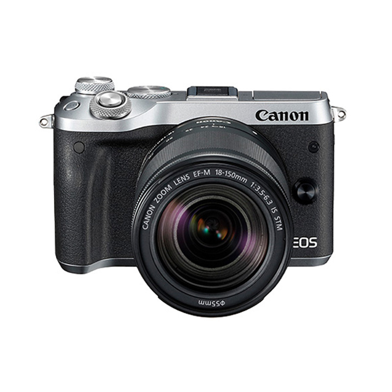 官方翻新品-EOS M6 银色套机 EF-M 18-150mm f/3.5-6.3 IS STM