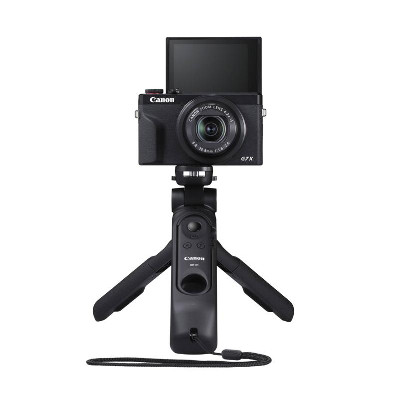 PowerShot G7X Mark III 黑色+三脚架手柄 HG-100TBR 黑色 套机