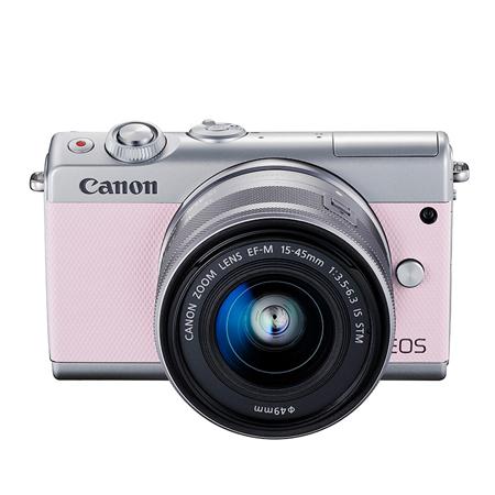 EOS M100 粉色单头套机 EF-M 15-45mm f3.5-6.3 IS STM