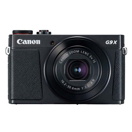 PowerShot G9X Mark II 黑色