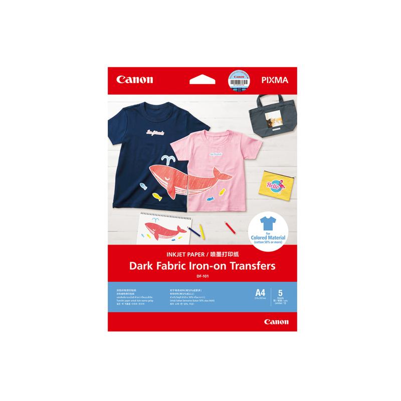 深色织物烫印贴纸DF-101 A4(5张/包)