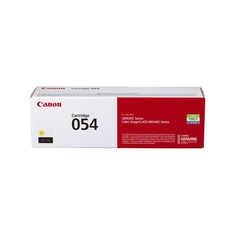 硒鼓CRG054 Y标准容量黄色(适用MF641Cw/MF643Cdw/MF645Cx/LBP623Cdw等)