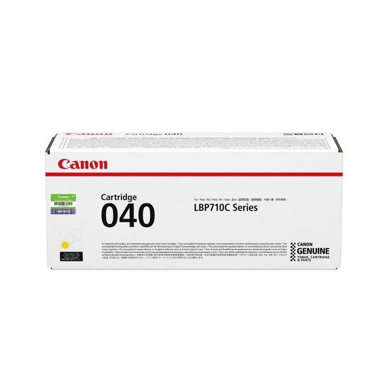 硒鼓CRG040 Y标准容量黄色(适用LBP710Cx/LBP712Cx)