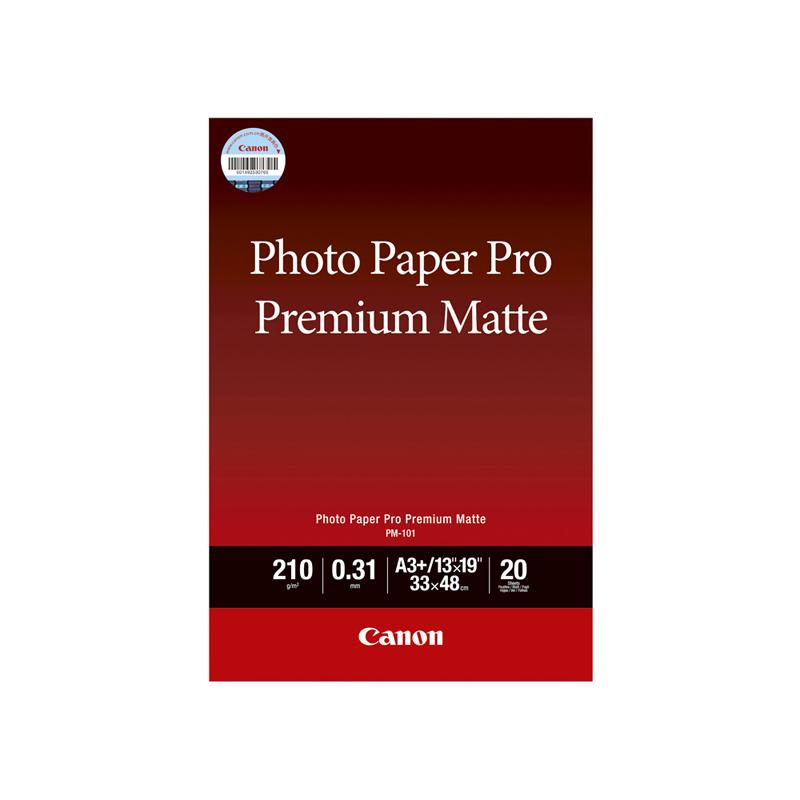 专业无光泽照片纸 PM-101 A3+ (20张/包)