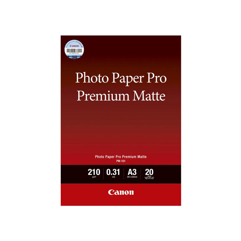 专业无光泽照片纸PM-101 A3 (20张/包)