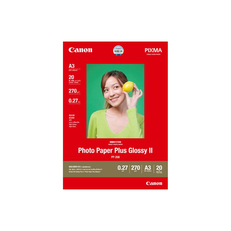 高级光面照片纸PP-208 A3 (20张/包)