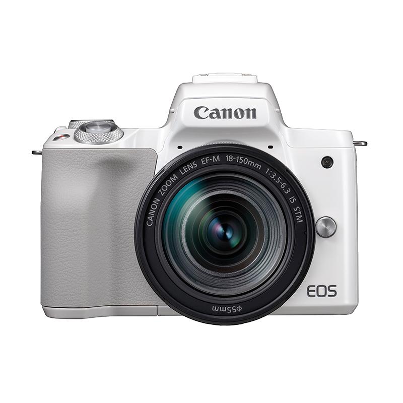EOSM50 套装(白)  EF-M 18-150mm f3.5-6.3 IS STM