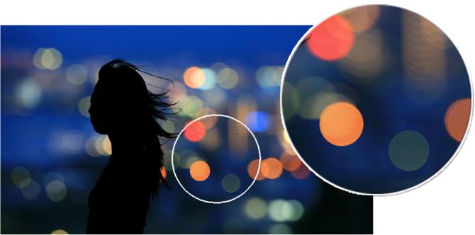 8叶片圆形光圈带来美丽的虚化影像